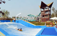 Outdoor Commercial Surfing Water Slide for Children Funny Water Playground Equipment