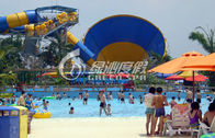 Water Park Equipment Large Tornado Water Slide for Children and Adults Water Playground