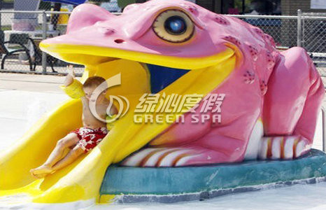 Summer Small Swimming Pool Water Slide / Water Pool Slides