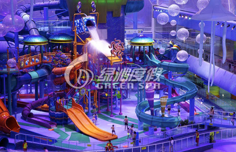 Indoor Commercial Aqua Playground Equipment For Kids and Adults Water Park Fun Games
